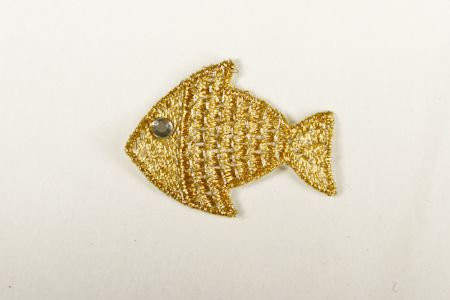 Badge Poisson Or