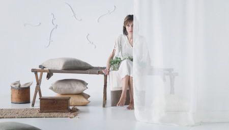 r aliser mes rideaux et doubles rideaux en voile de lin. Black Bedroom Furniture Sets. Home Design Ideas