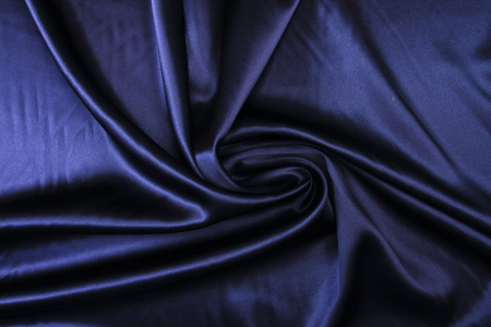 Crepe  stretch polyester  Marine