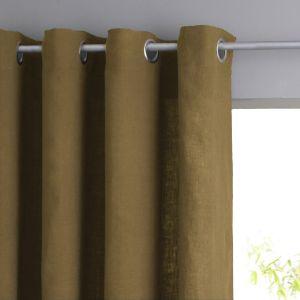 t te de rideaux oeillets pictures to pin on pinterest. Black Bedroom Furniture Sets. Home Design Ideas