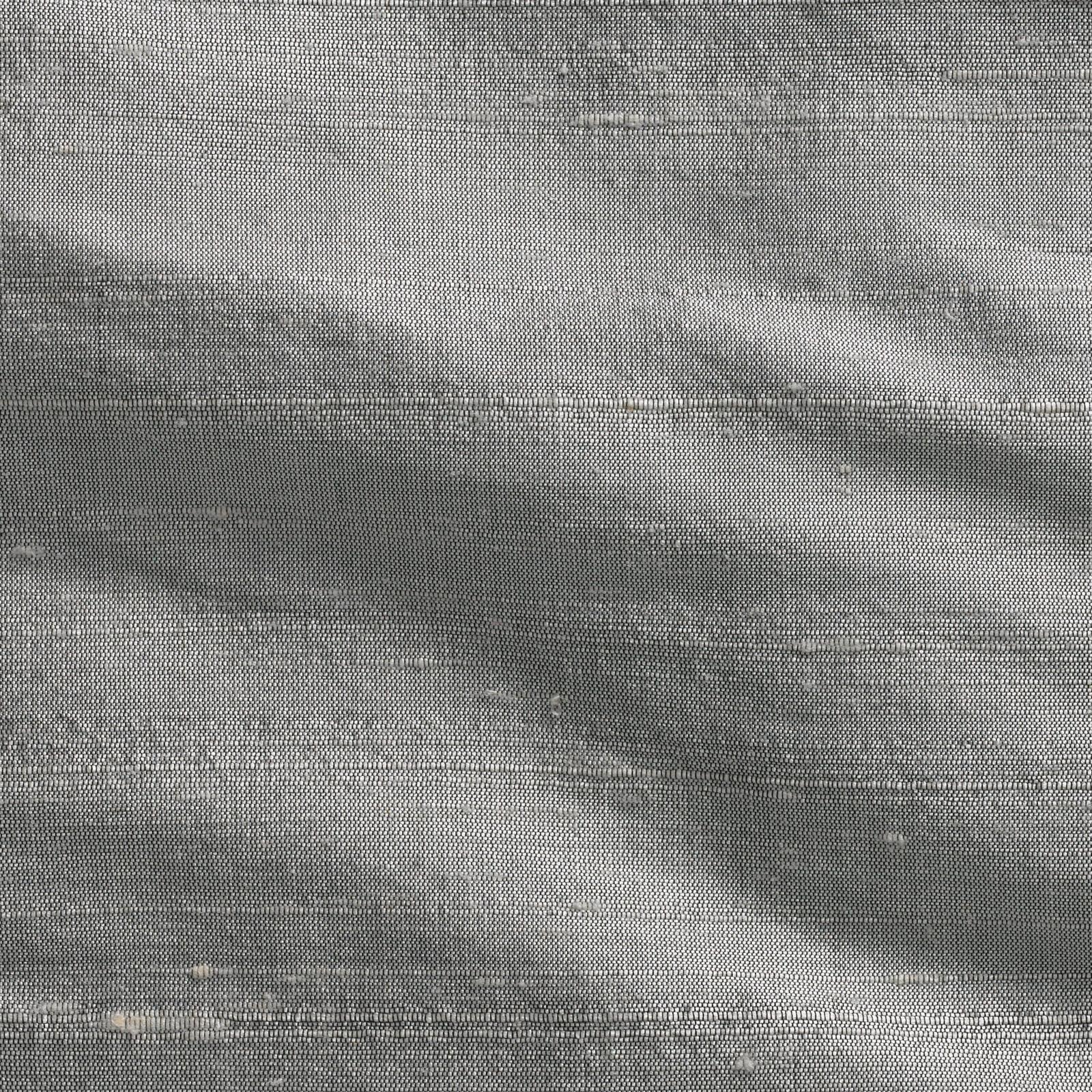 Tissu soie sauvage id ale argent pour double rideaux de - Tissus pour double rideaux ...