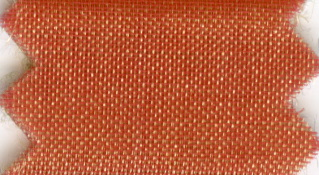 Organza de Soie - Rouge - Orange