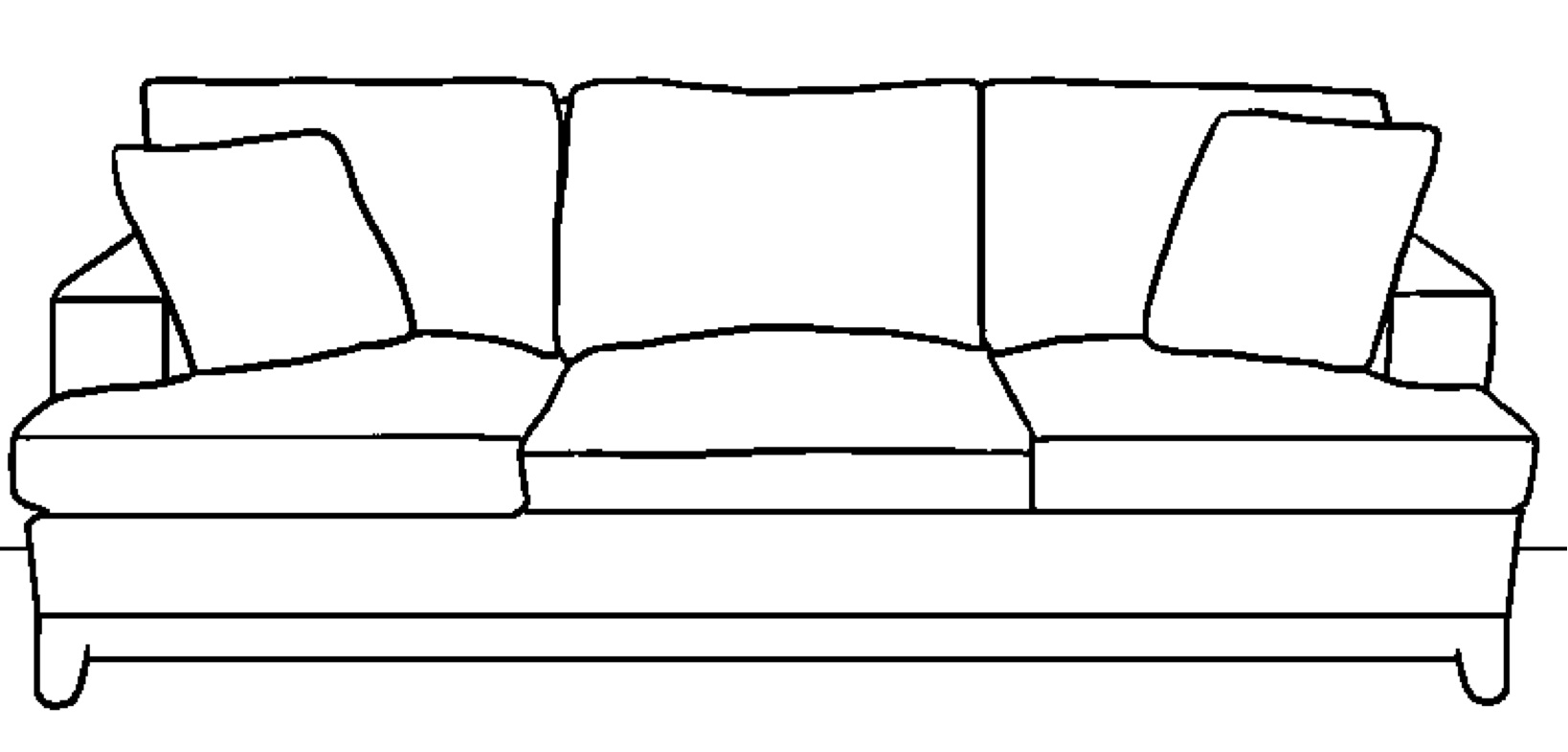 comment dessiner un fauteuil. Black Bedroom Furniture Sets. Home Design Ideas