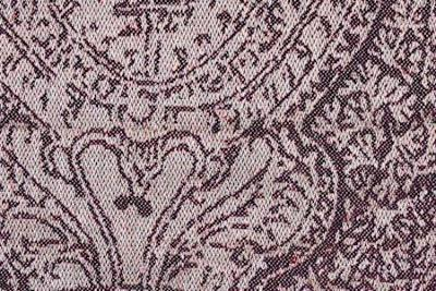 lin Damassé Jacquard Damas Prune 100M minimum