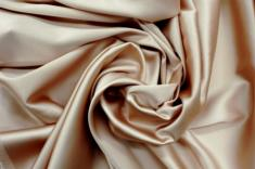 Crepe satin Stretch pour robe